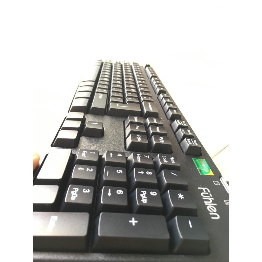 Bàn phím gaming có dây Fuhlen L411 - Ninza Hàng Chính Hãng