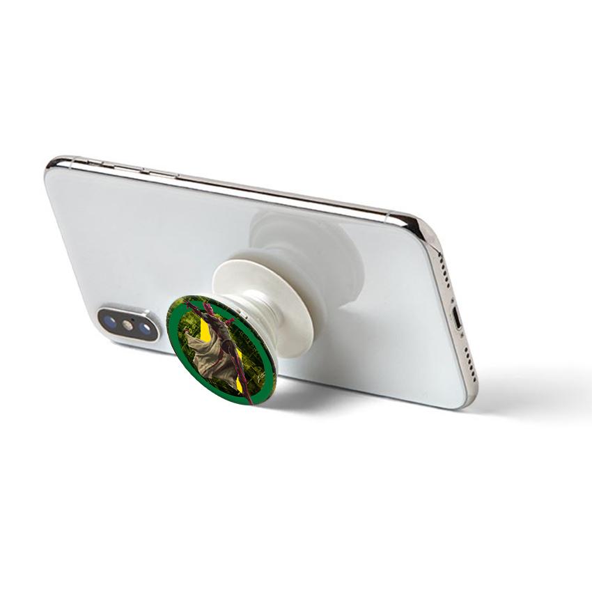 Gía đỡ điện thoại đa năng, tiện lợi - Popsockets - In hình STONE 01 - Hàng Chính Hãng