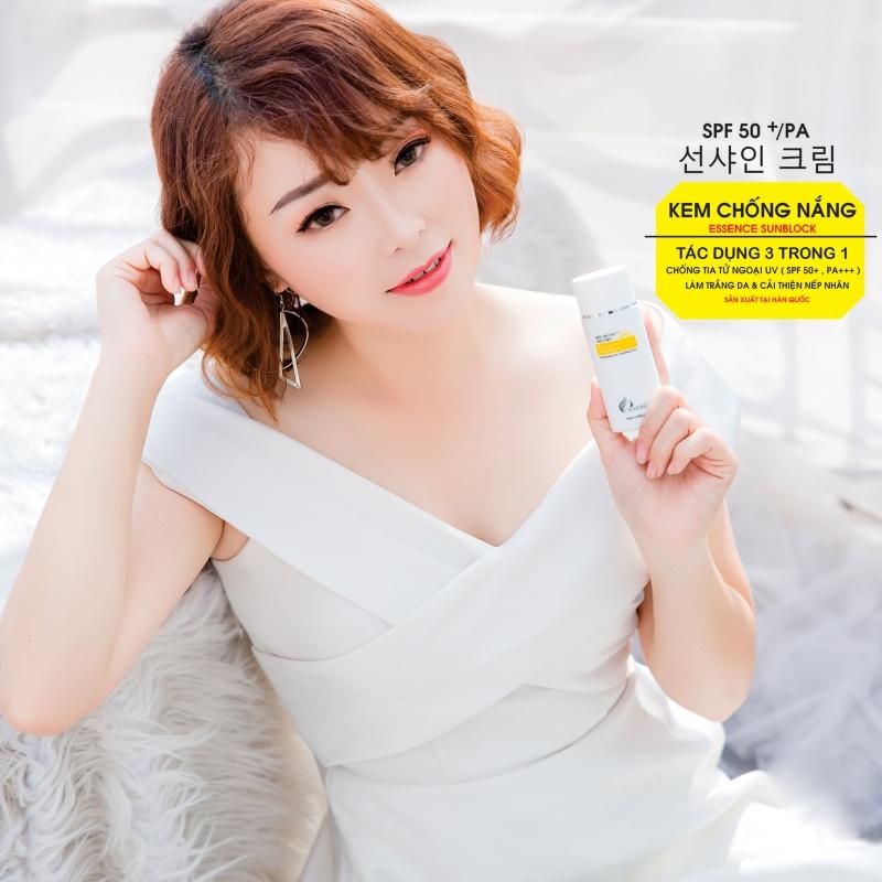 Kem Chống Nắng Dưỡng Trắng Da Chống Lão Hóa SPF 50+ PA+++ Charme Hàn Quốc 50ml