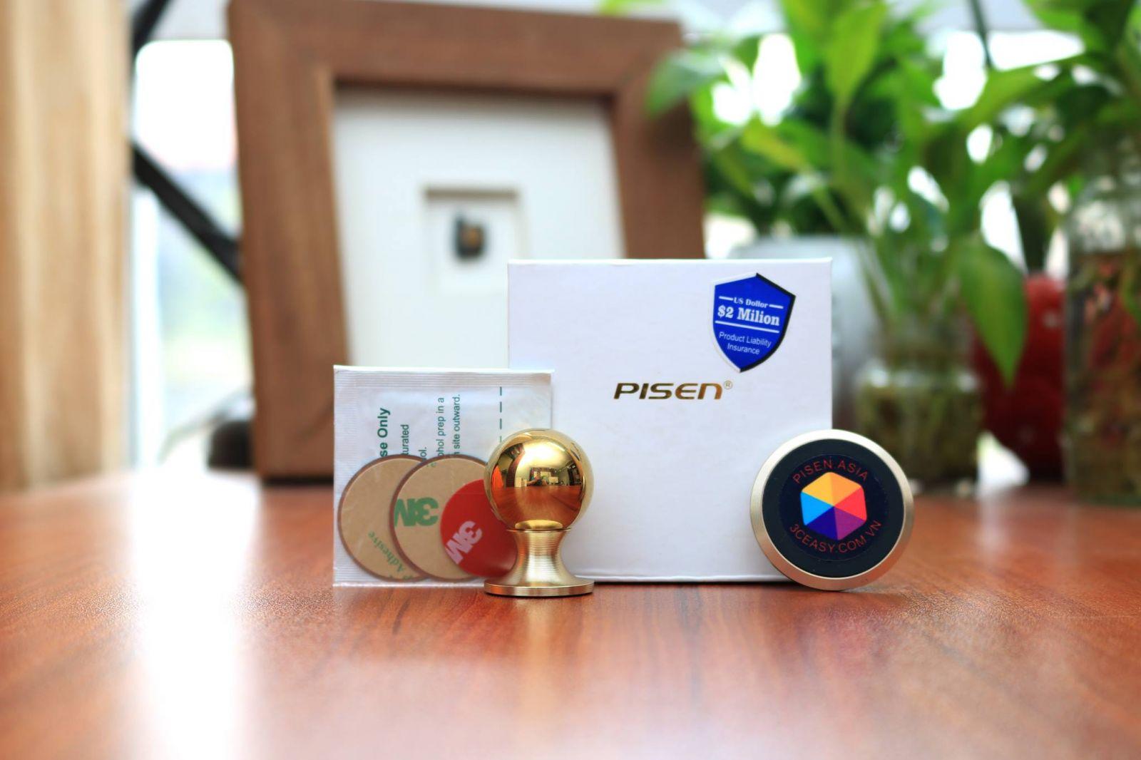 Đế hít điện thoại Pisen Magnetic - Hàng Chính Hãng