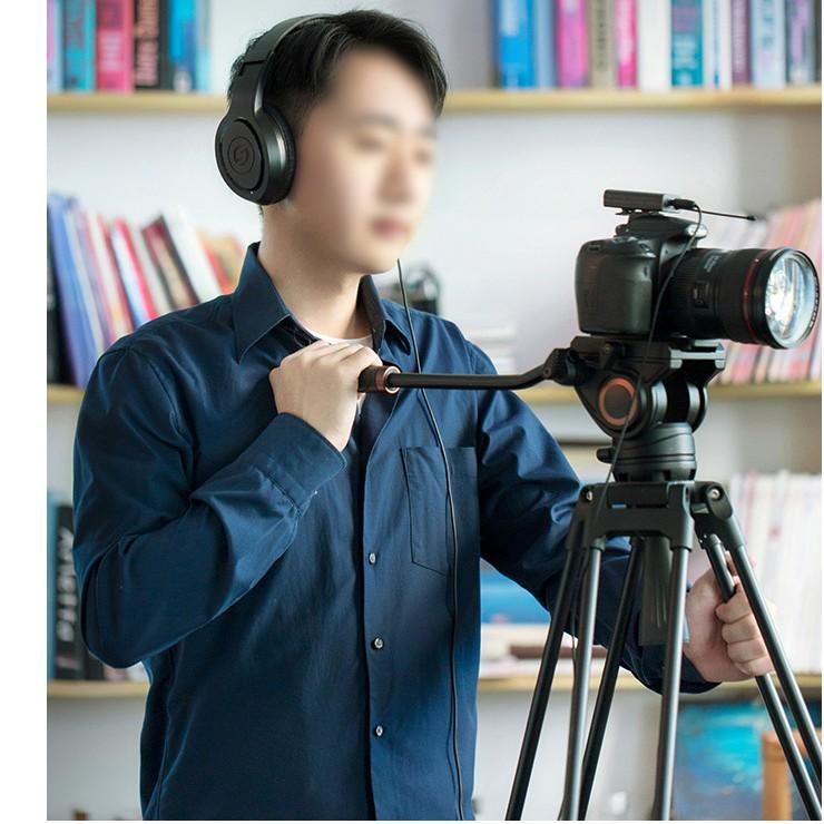 Micro cài áo không dây livestream, thu âm, quay video từ xa dùng cho điện thoại, máy quay phim