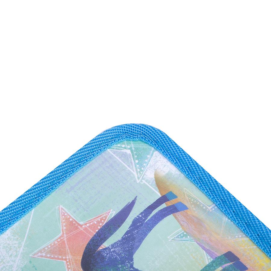 Cặp Học Sinh 2 Ngăn Deli CZ64802 - Hình Ngựa