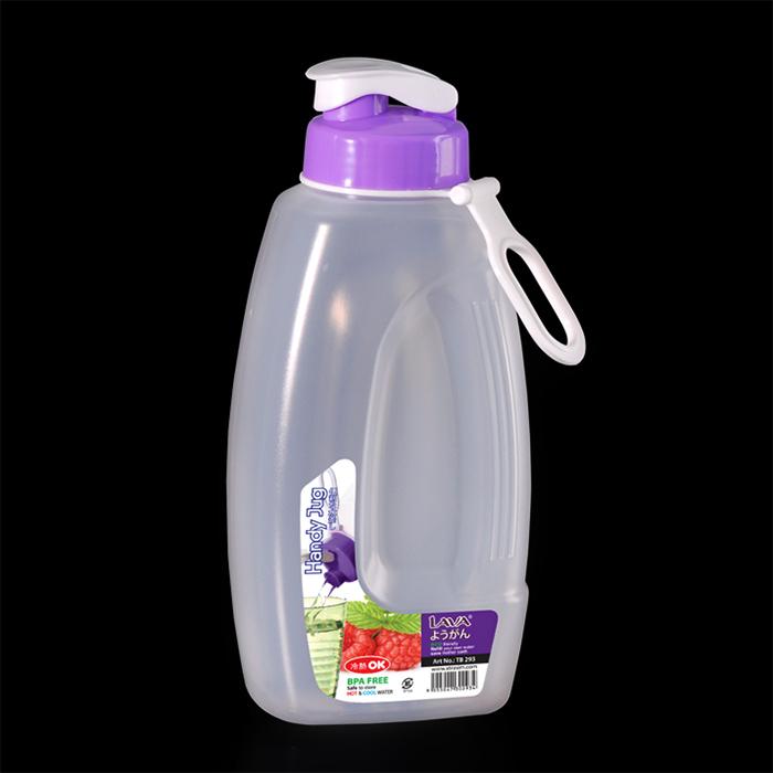 Bình nước nhựa Lava TB293 - 1.25L (Giao màu ngẫu nhiên)