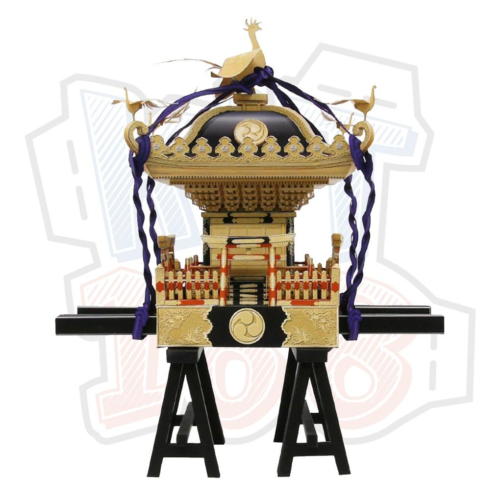 Mô hình giấy Lễ hội Đền thờ di động Nhật Bản Mikoshi (portable shrine)