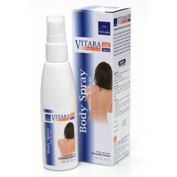 Xịt Mụn Lưng, Cánh Tay, Ngực Và Cổ Vitara Se Body Acne Spray - BER24 (50ml)