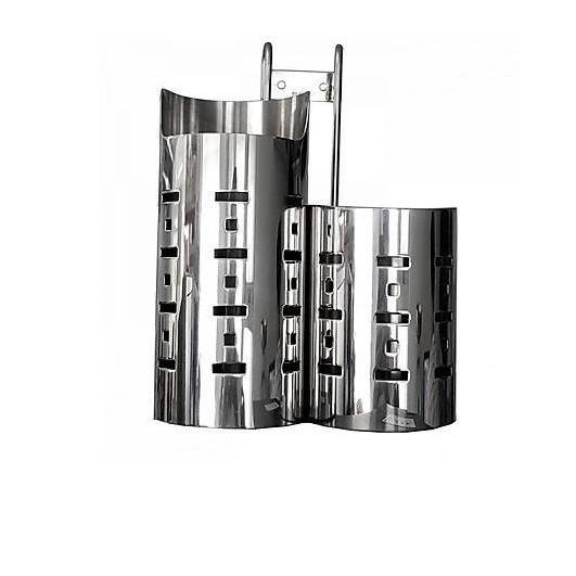 Ống đũa 2 ngăn cao thấp Inox 304-OD02