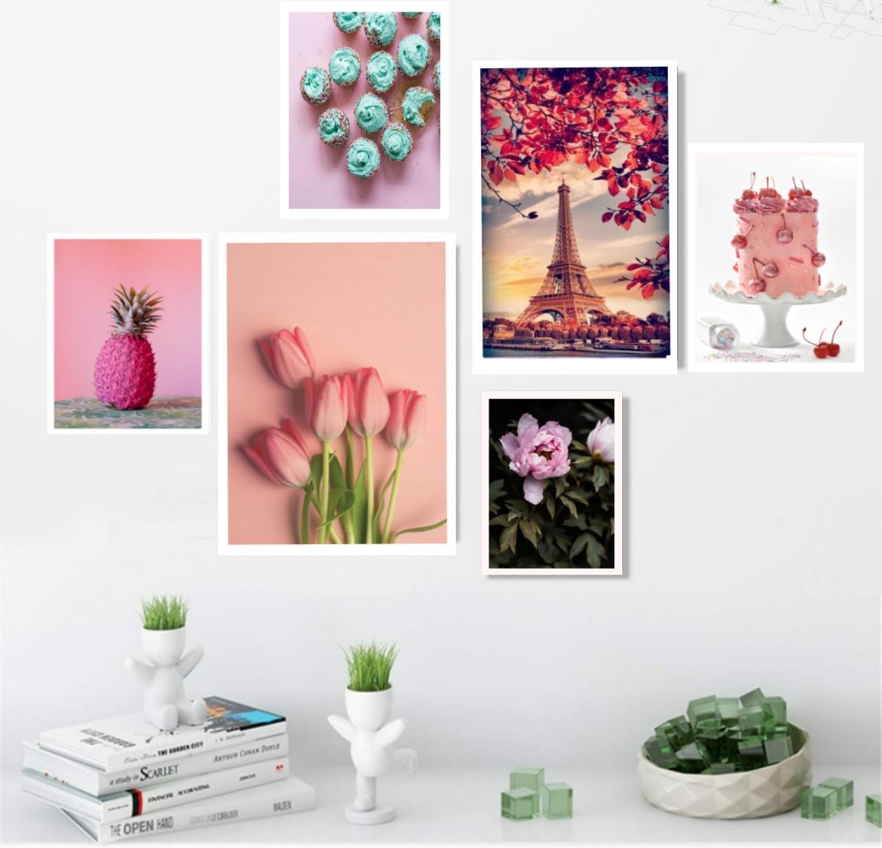 Tranh Canvas treo tường phòng khách, phòng ăn-Tặng kèm khung và đinh treo tường
