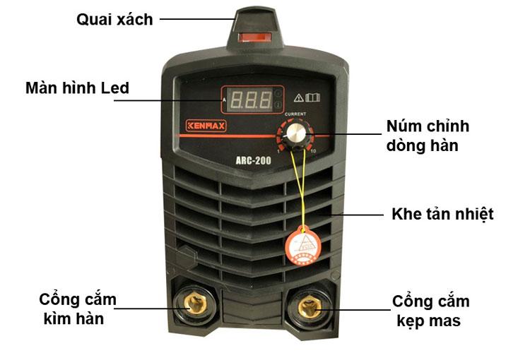 Máy hàn điện tử Ø1.6-4.0 Kenmax ARC-200