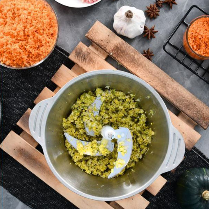 Máy xay cắt đa năng dùng cho xay thịt và các loại rau củ thực phẩm