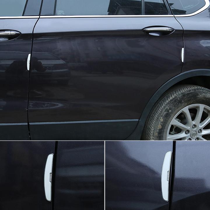 Nẹp chống va đập cánh cửa ô tô cao cấp HC7878 - Kích thước: 105x20mm - 2 màu: đen, trắng