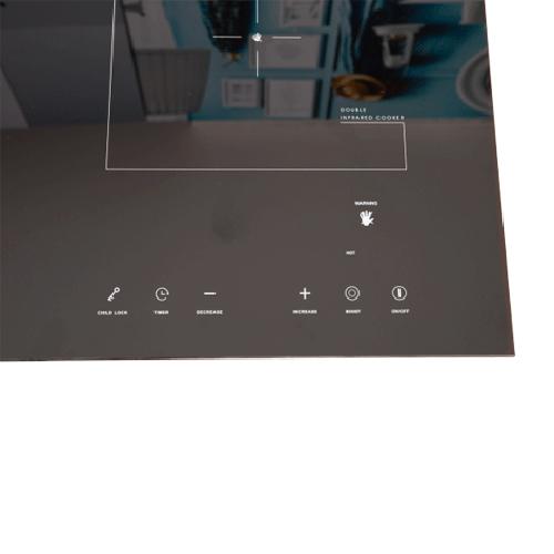 Bếp Đôi Điện Từ Hồng Ngoại Junger NKD-20 (4200W)