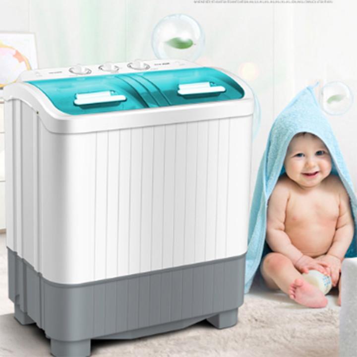 Máy giặt - Máy giặt mini 2 lồng giặt - Hàng nhập khẩu