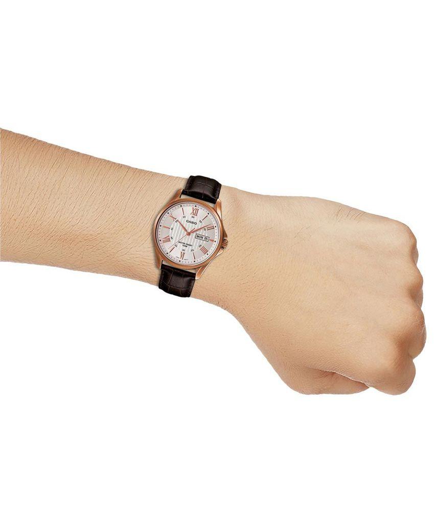 Đồng hồ nam dây da Casio MTP-1384L-7AVDF