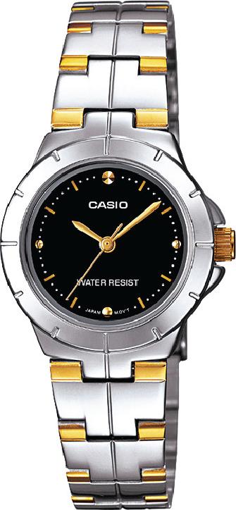 Đồng hồ nữ dây thép không gỉ Casio LTP-1242SG-1CDF