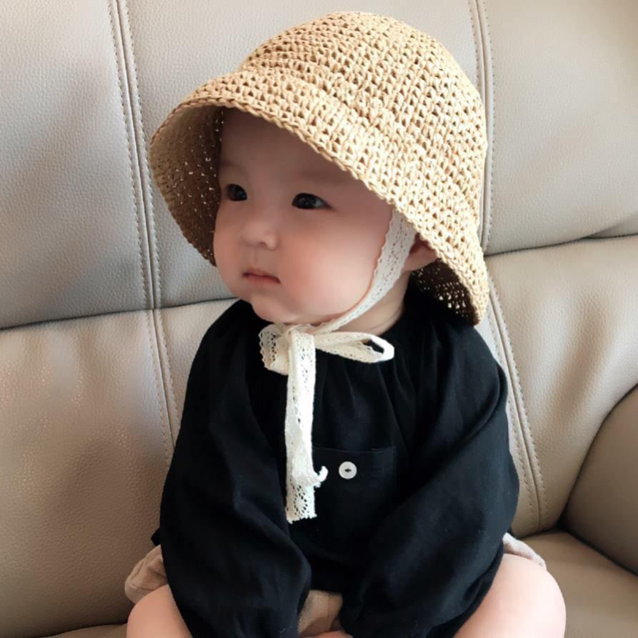 Mũ cói hottrend 2019 cho bé yêu