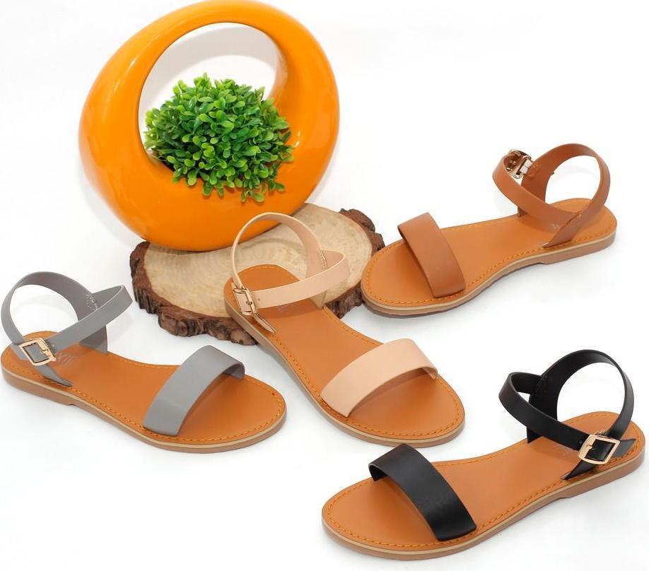 Giày Sandal Bệt Quai Ngang Pixie X555