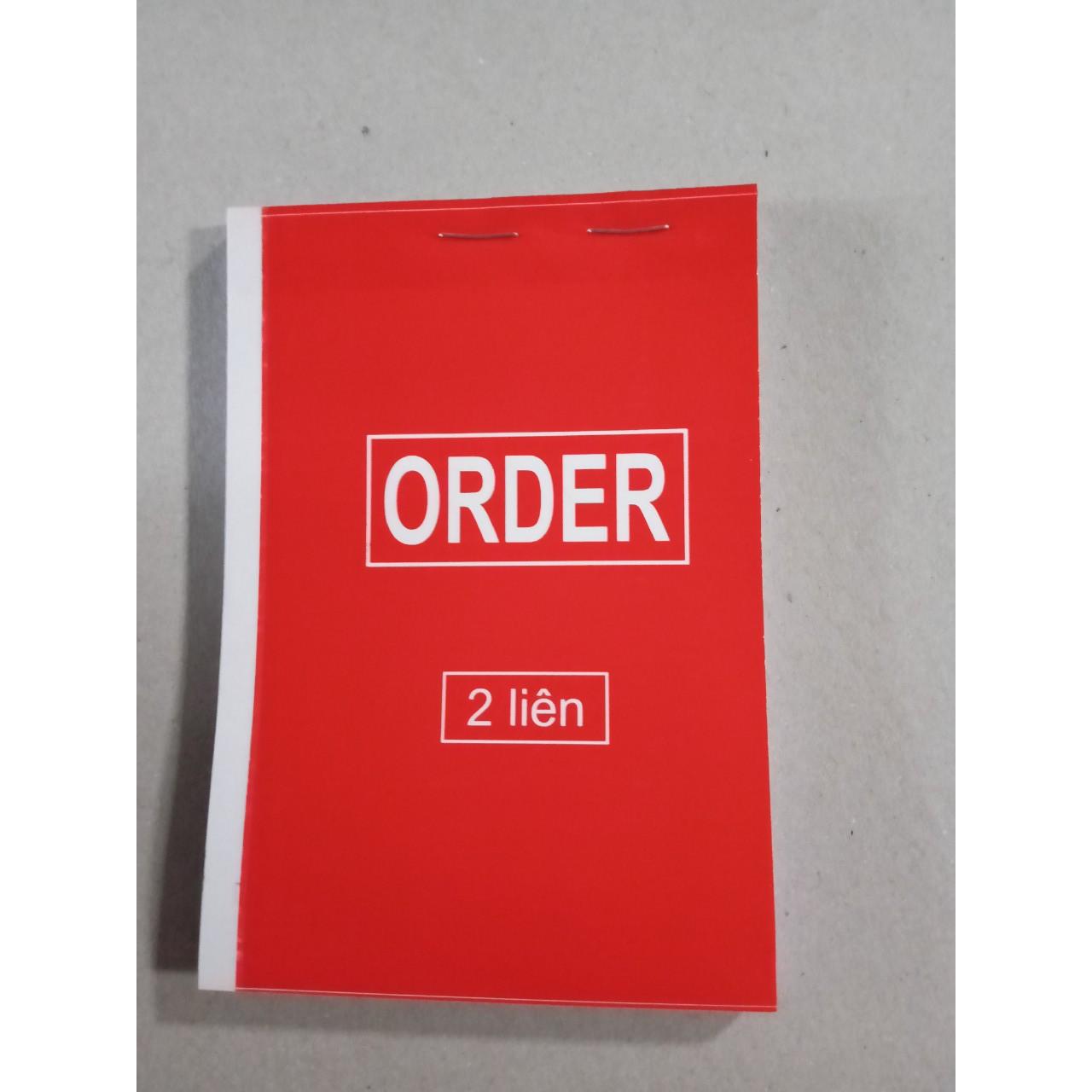 Order 2 liên A6 - Combo 10 quyển