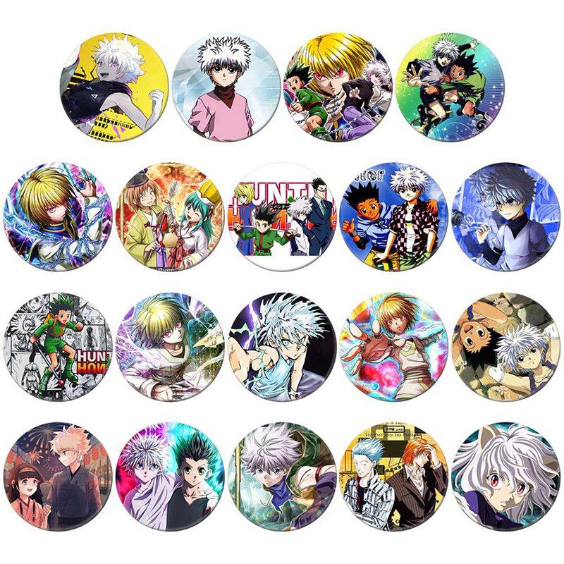 Huy hiệu Anime Hunter x Hunter Thợ săn trâm cài áo balo