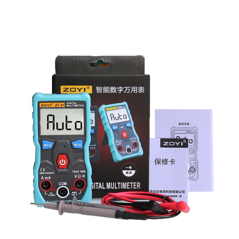 Đồng hồ vạn năng số tự động hoàn toàn ZOYI ZT-S1 True RMS 4000 count có NCV