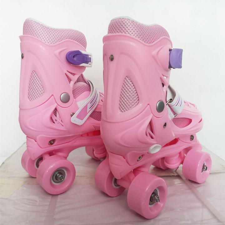 Giày trượt patin BW-21 4 bánh 2 hàng cho trẻ em size 28 - 34