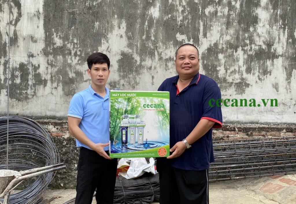 Máy lọc nước Cecana CA6 Ceramic Nano mọi nguồn nước không điện - Hàng chính hãng