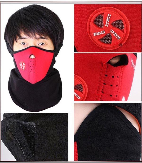 Bộ 2 Khẩu Trang Kiểu Dáng Ninja Dành Cho Dân Phượt  ( tặng ví đựng thẻ card )