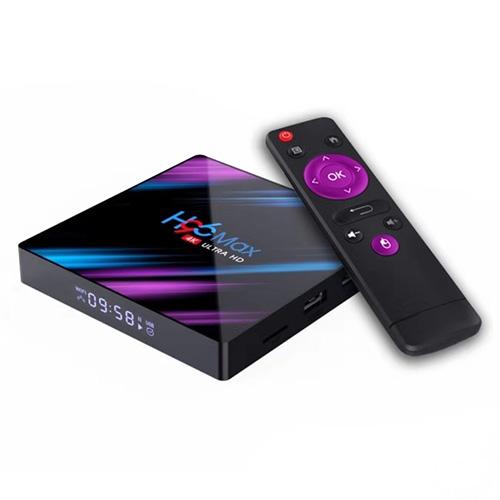 Hộp set-top H96MAX mới RAM 2GB RK3318 Hàng Chính Hãng