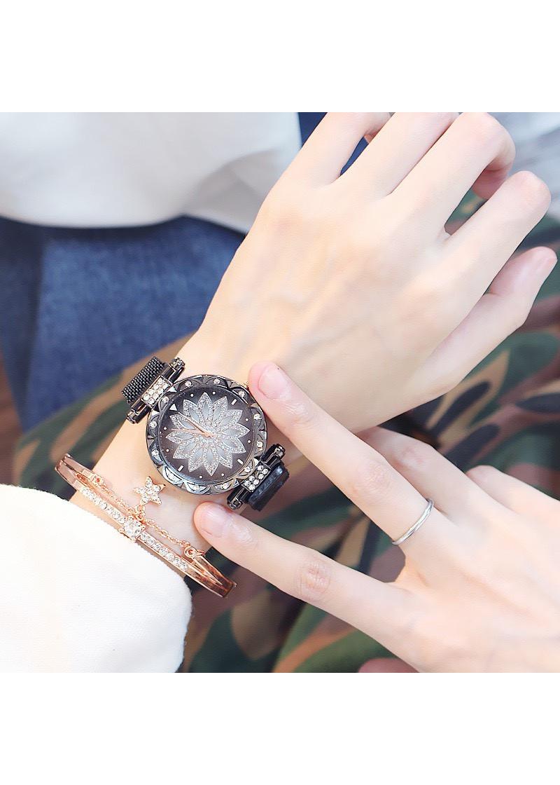 Đồng hồ đeo tay thời trang nữ nam Motani cực đẹp DH23