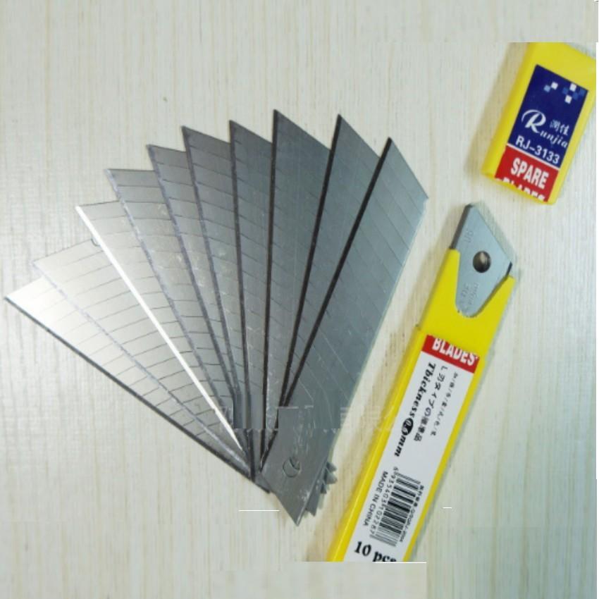 Bộ 10 Lưỡi dao trổ 10x1.8cm 206291