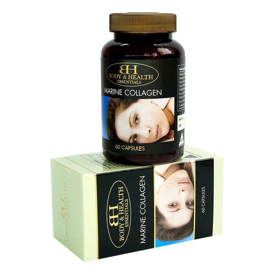 Thực Phẩm Chức Năng Collagen Chiết Xuất Từ Động Thực Vật Biển Marin Collagen (60 Viên)