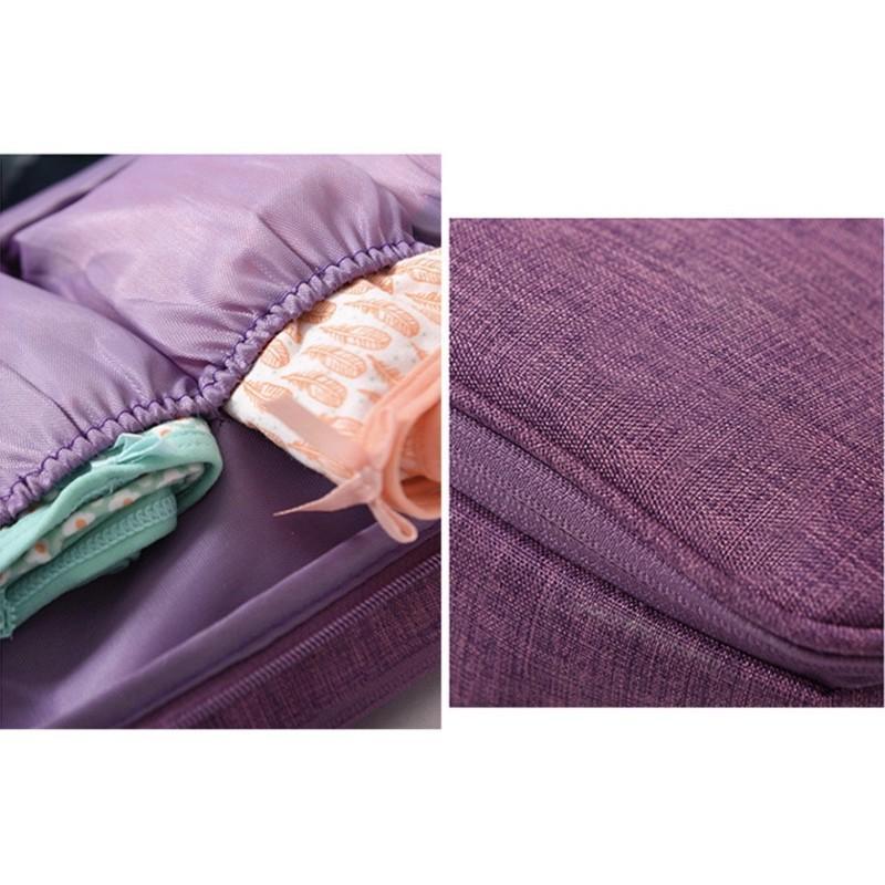 Túi Đựng Đồ Lót Nhiều Ngăn -Du Lịch -Chống Thấm Nước- Tiện Dụng