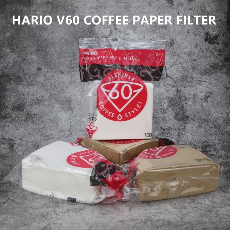 Giấy lọc cà phê Hario V60-Size 02-100 Tờ Trắng