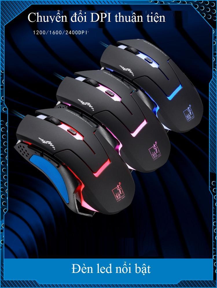 Chuột có dây T7 dành cho các game thủ - Hàng Nhập Khẩu
