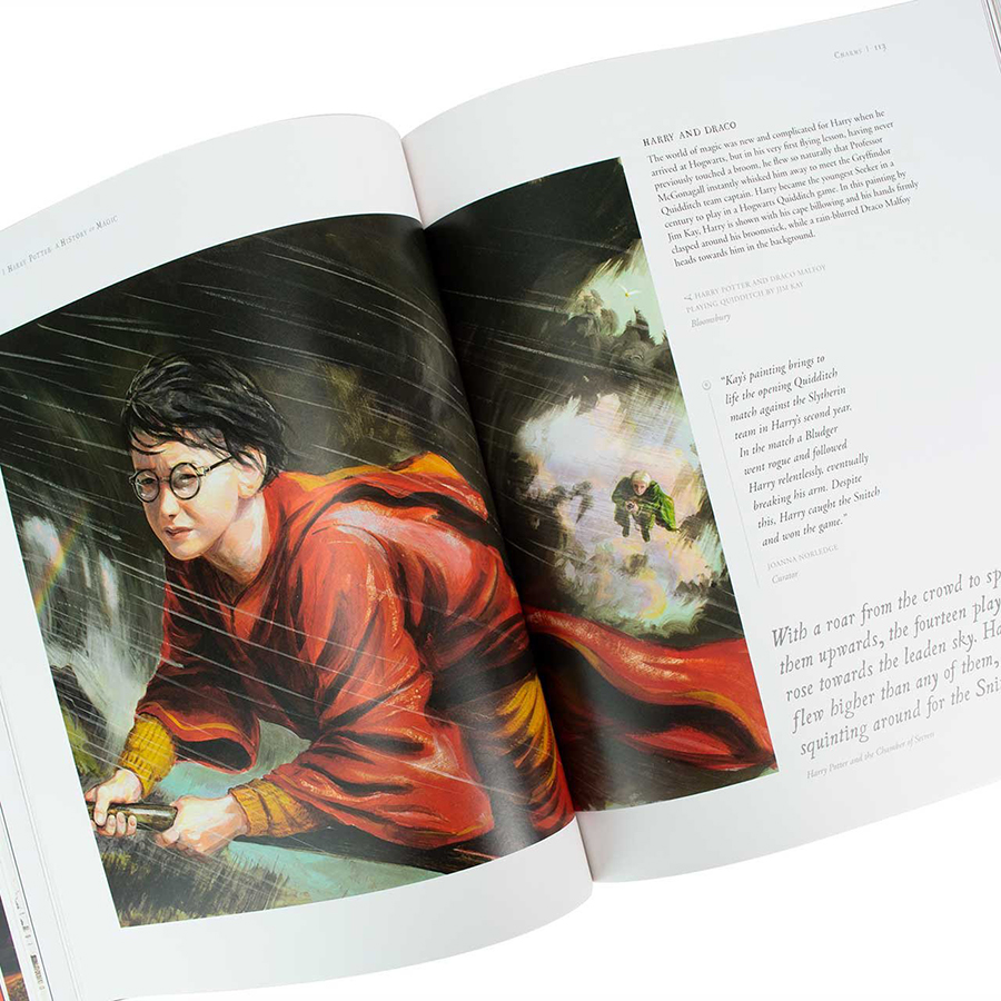 Harry Potter: A History of Magic (Paperback) - Lịch sử ma thuật (English Book)