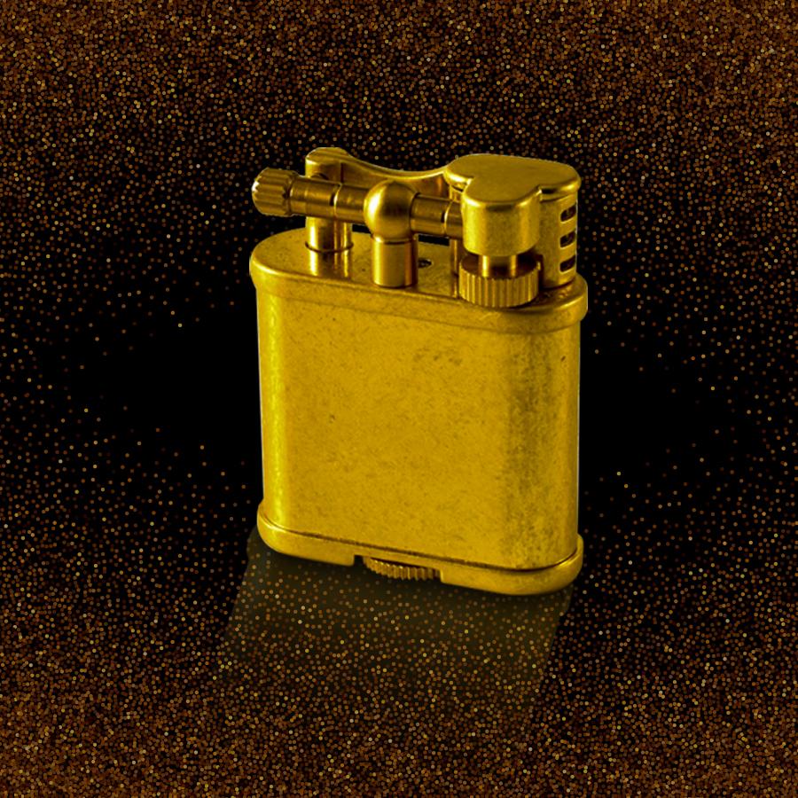 Hộp quẹt bật lửa xăng đá Z597 chất liệu đồng nguyên chất kiểu dáng cổ điển sang trọng