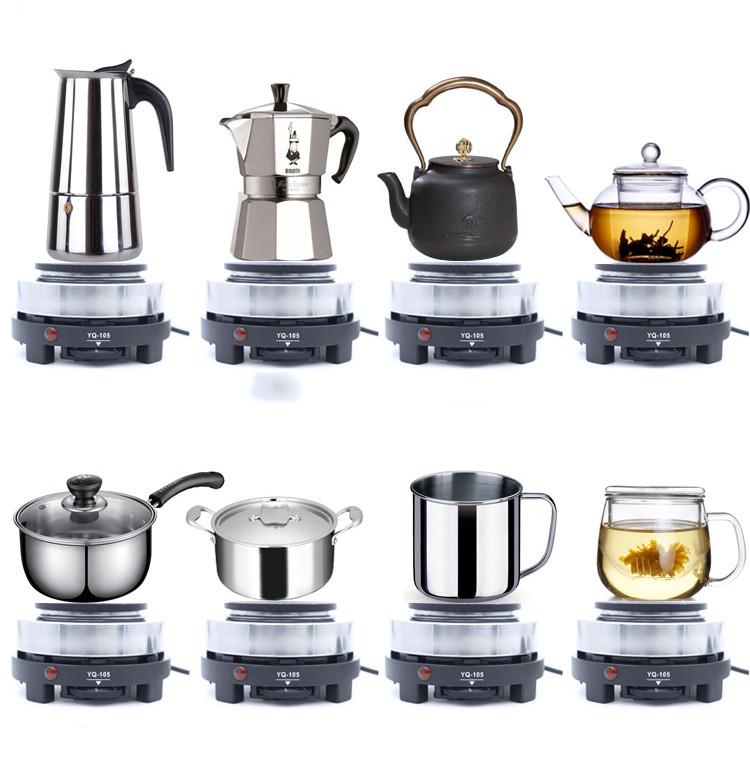 Bếp điện mini đa năng pha trà cà phê nấu cháo công suất 500W