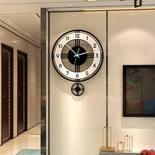 Đồng hồ treo tường quả lắc - tạo nét sang trọng cho không gian nhà bạn