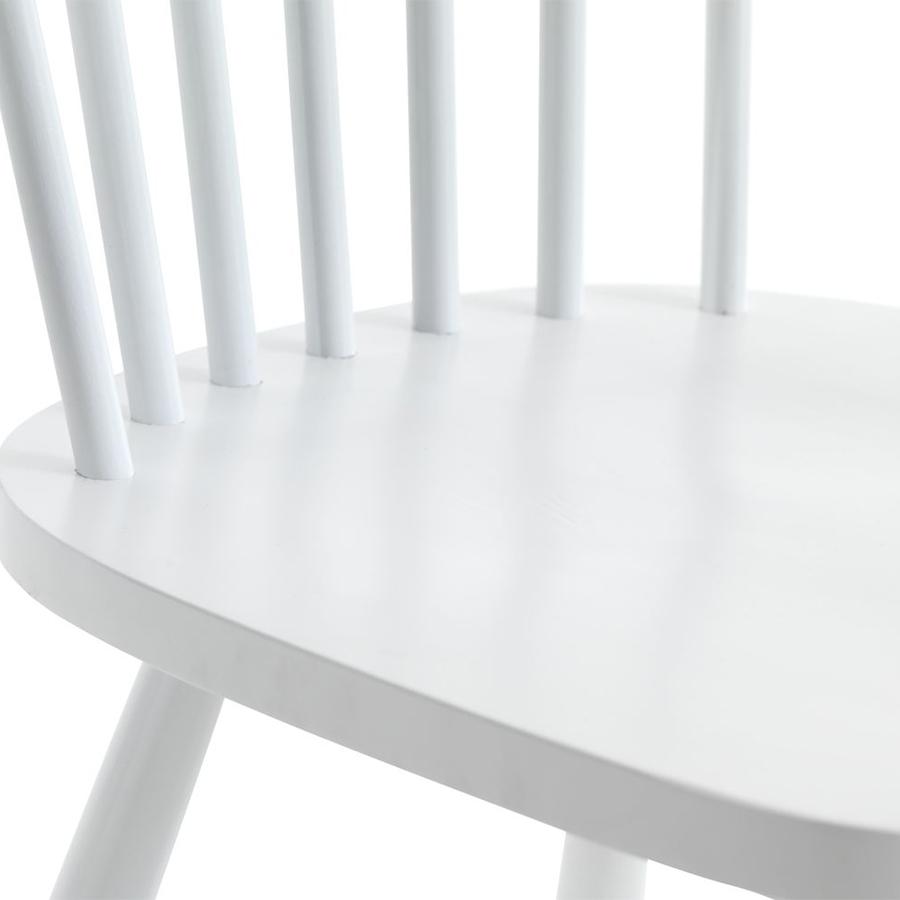 Ghế Bàn Ăn Langdal JYSK Plus (49 x 86 x48 cm) - Trắng