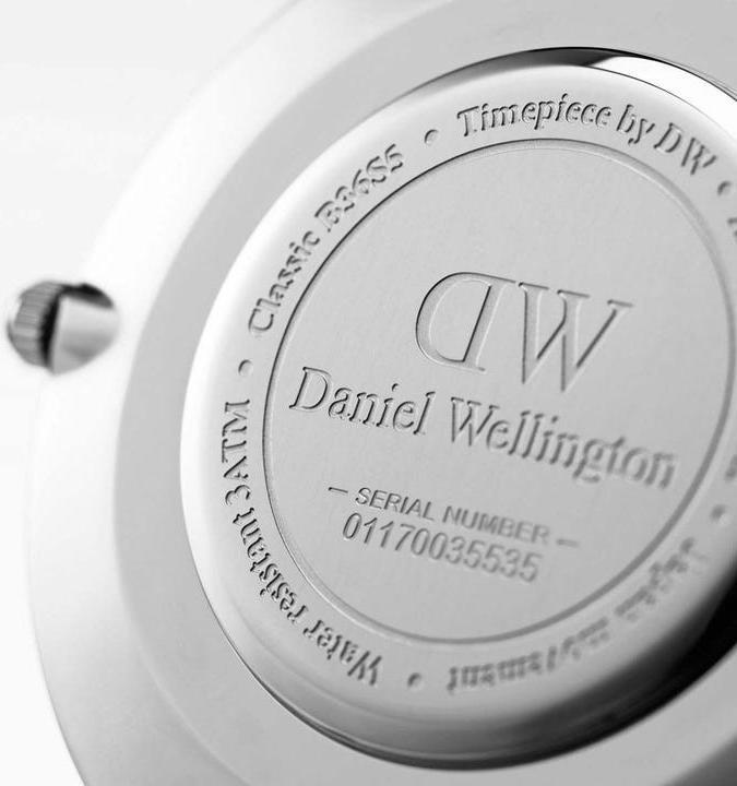 Daniel Wellington Classic Roselyn Silver White 36mm DW00100272
