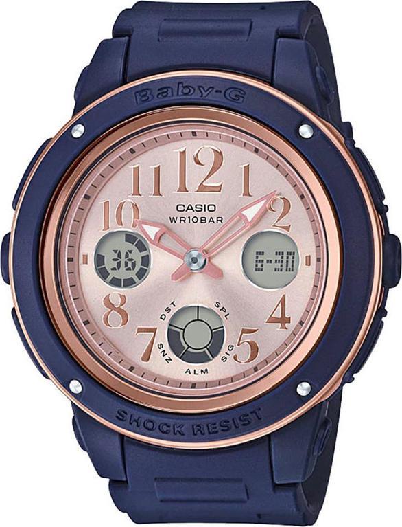 Đồng Hồ Nữ Dây Nhựa Casio Baby-G BGA-150PG-2B1DR