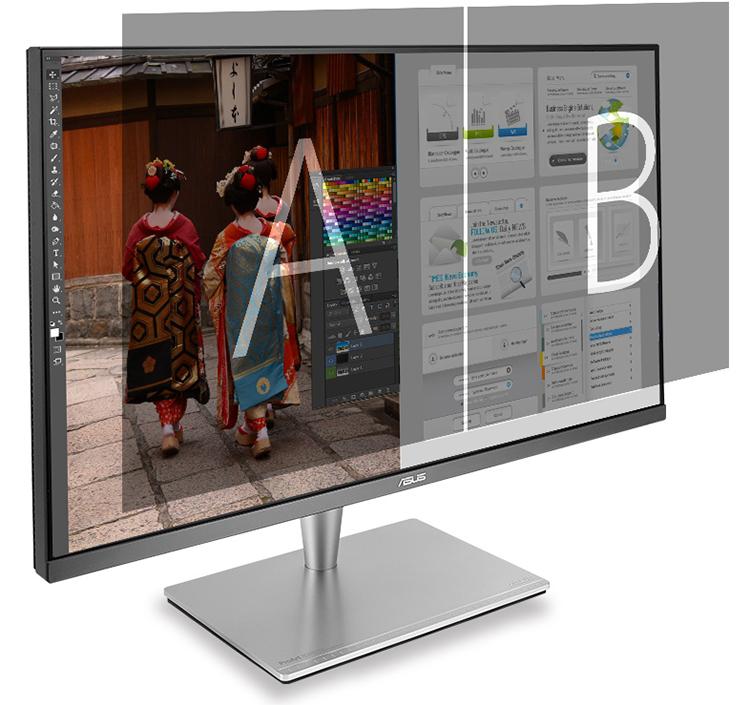 Màn Hình Asus Professional PA32UC 4K HDR 32 Inch Rec.2020 95% DCI-P3 Hardware Calibration Thunderbolt 3 - Hàng Chính Hãng