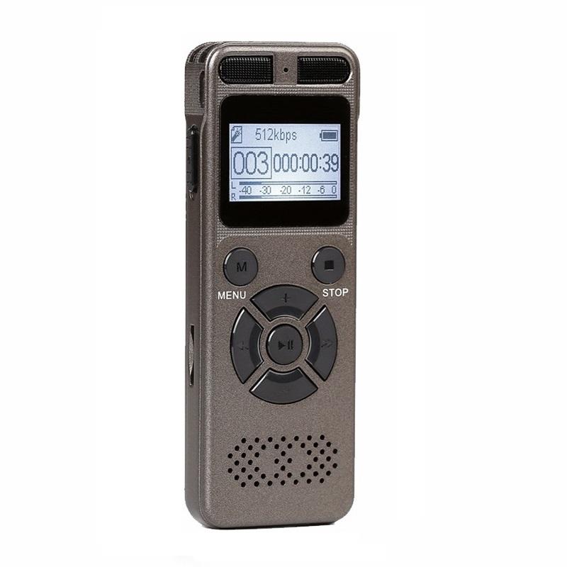 Máy Ghi Âm - Thiết Bị Ghi Âm Chất lượng Cao A300 8GB - Hàng Chính hãng