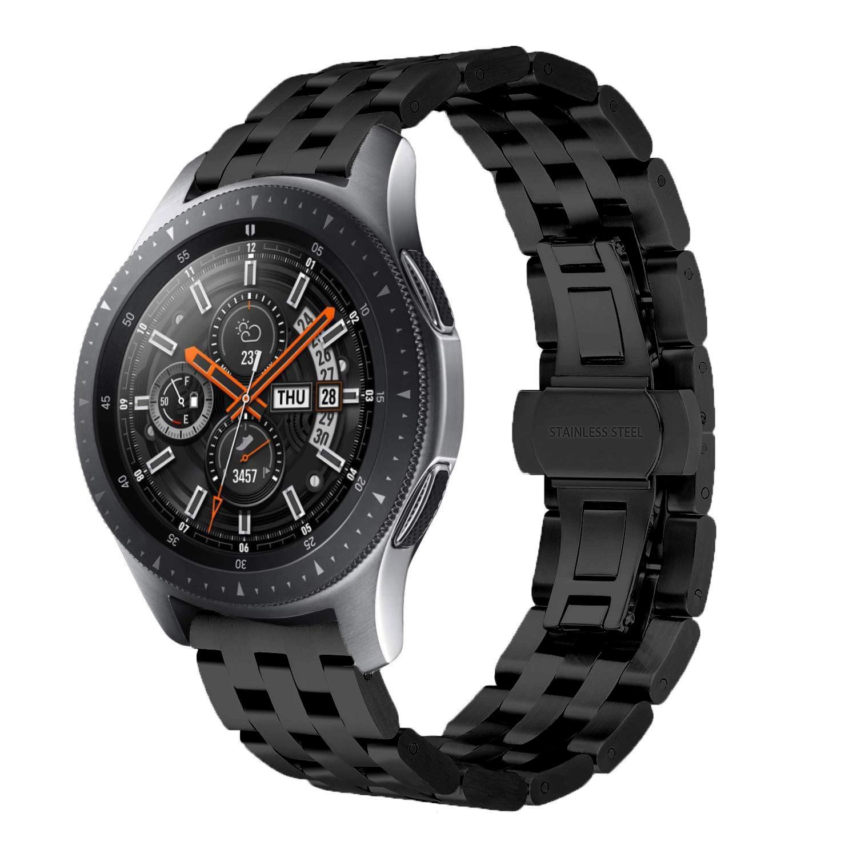 Dây Thép Mắt Xích Dọc Cho Đồng Hồ Samsung Galaxy Watch 46, Gear S3, Huawei GT, Fossil (Size 22mm)