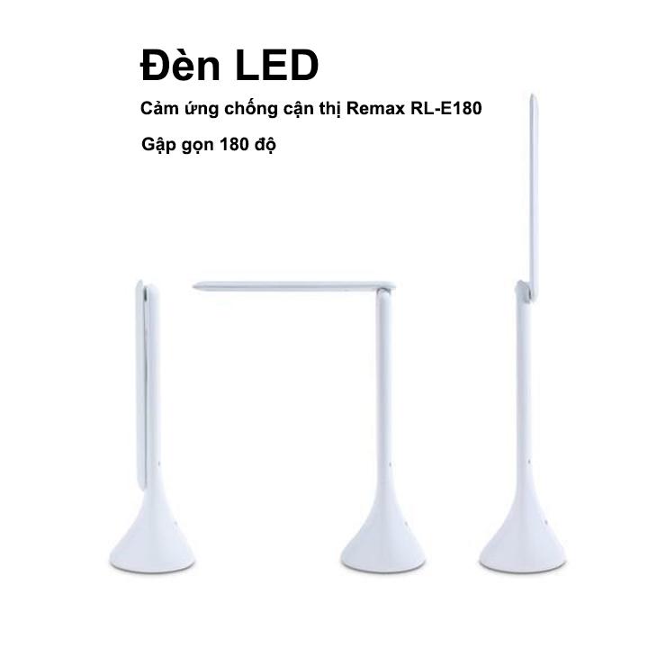 Đèn led để bàn Remax RT-E180 bảo vệ mắt - Hàng nhập khẩu