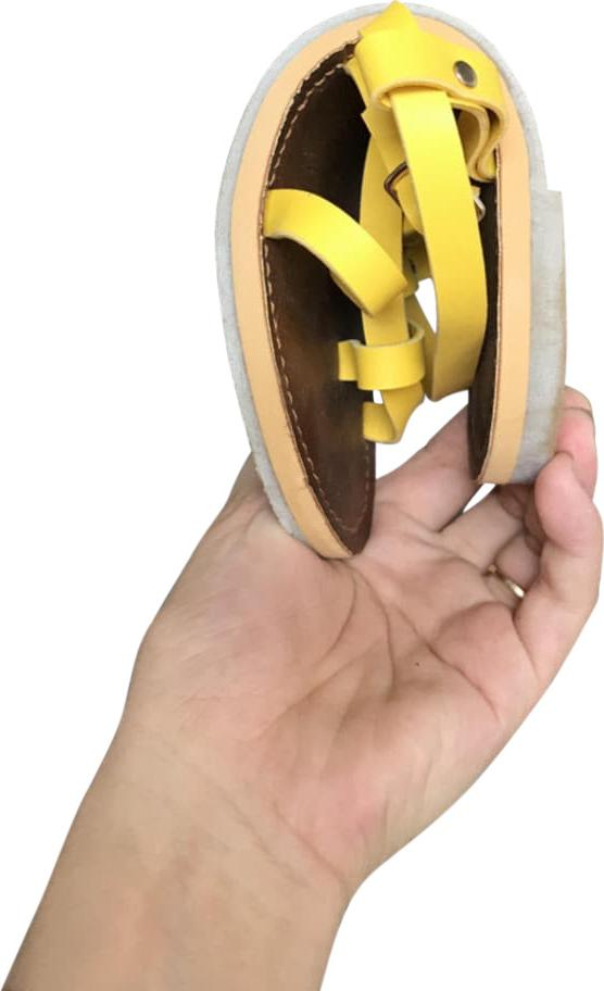 Giày cao sandal đế bằng