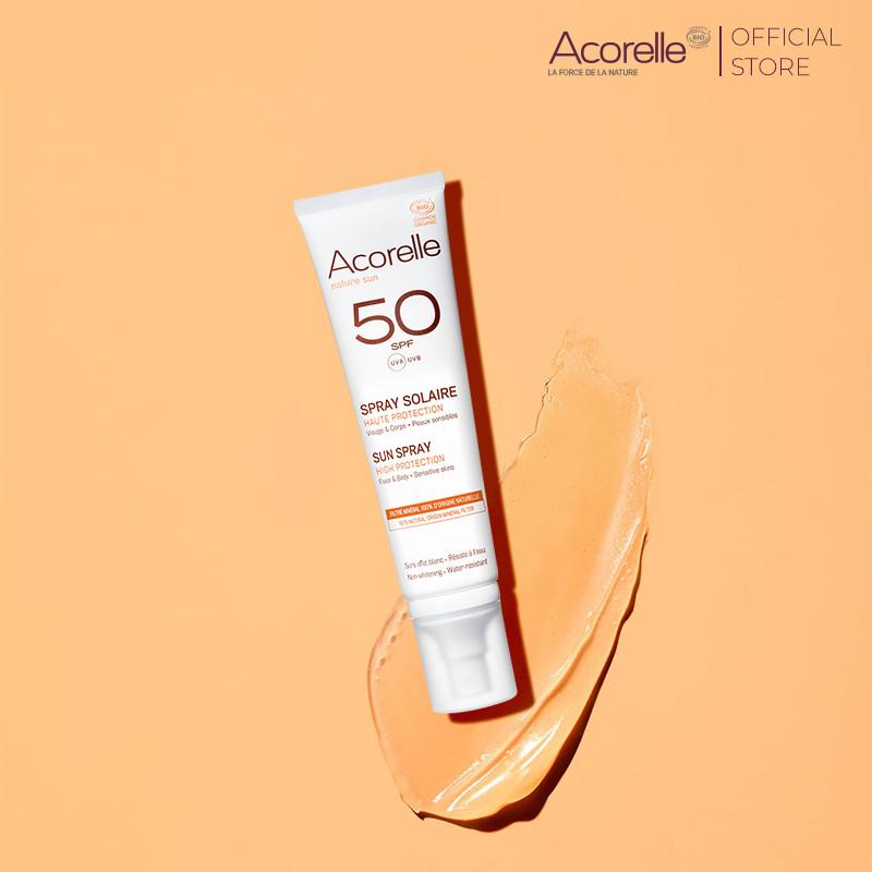 Sữa chống nắng Acorelle cho mặt và toàn thân SPF 50 100ml