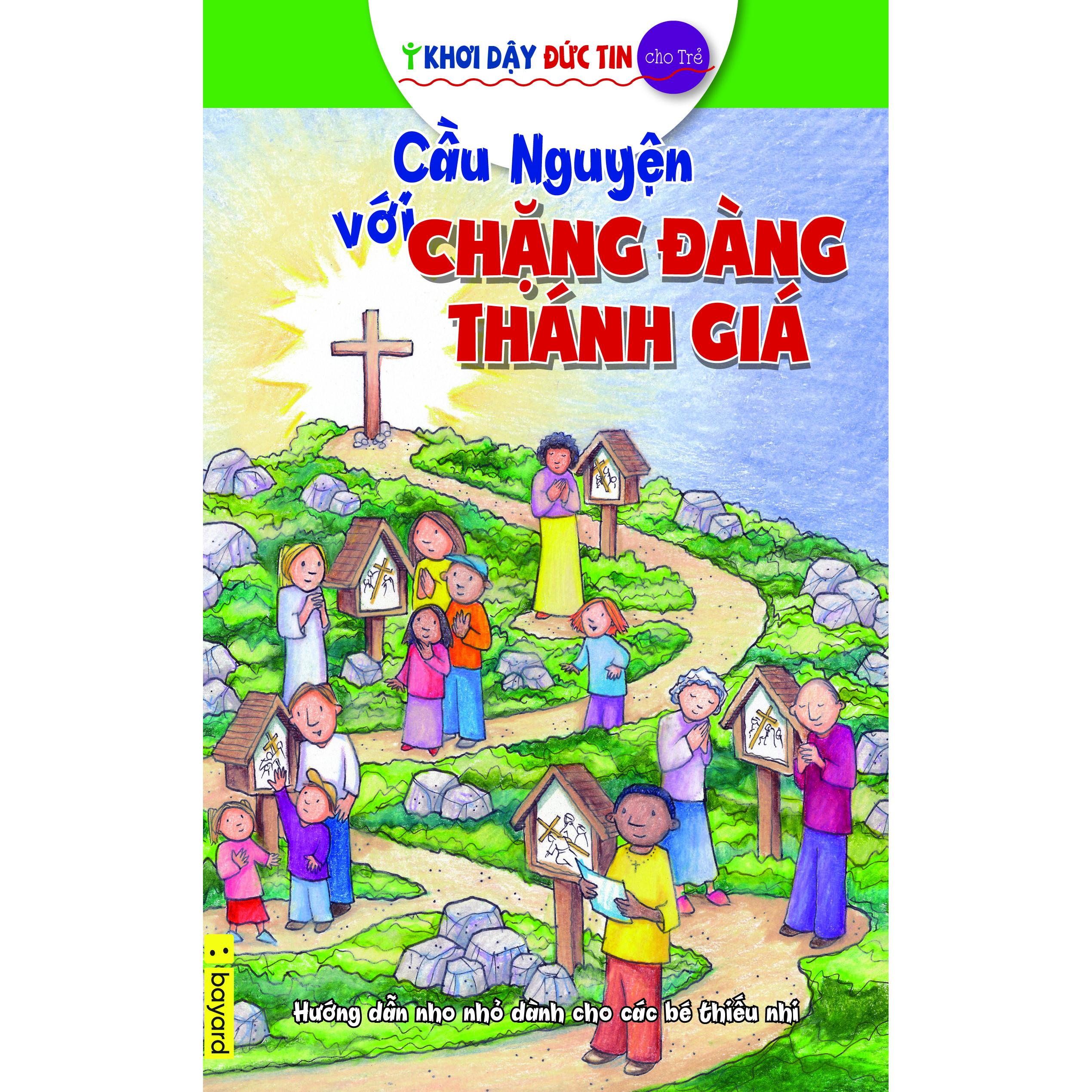 Sticker Cầu Nguyện Với Chặng Đàng Thánh Gía