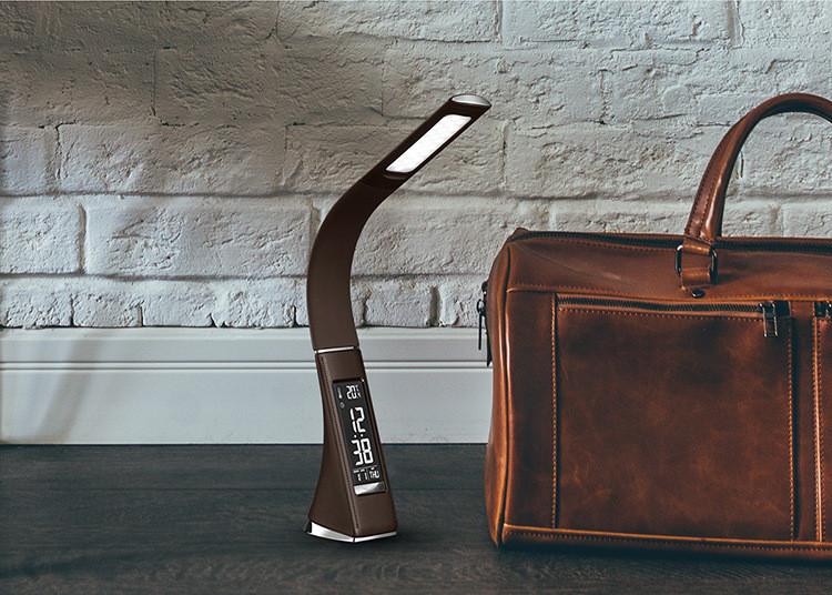 Đèn led để bàn đọc sách kiêm đồng hồ điện tử thông minh U2 ( Tặng kèm 01 đèn led mini cắm cổng USB ngẫu nhiên )