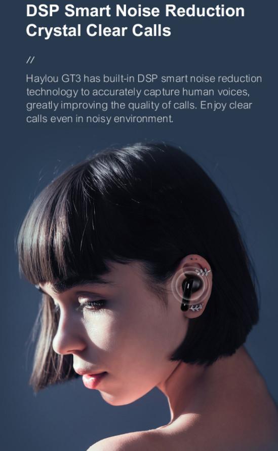 Tai Nghe True Wireless HAYLOU GT3 - Hàng Chính Hãng