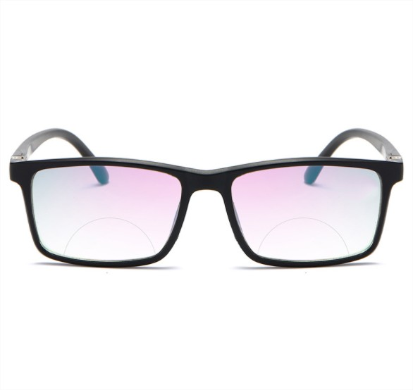 Kính viễn thị kính lão thị hai tròng nhìn xa và gần cực tiện tròng chữ nhật sang trọng cực đẹp mắt sáng và rõ KV42